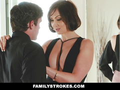 Fuck hungry brunette step aunt comes over and fucks hard her nephew